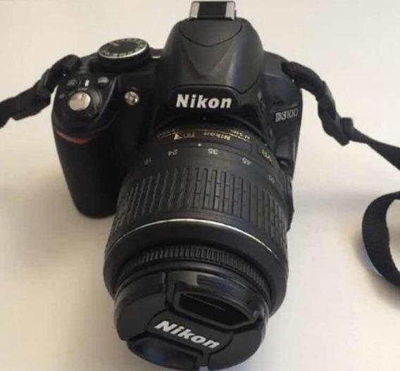 Câmera Nikon D3100 Seme Nova Poucos Cliques