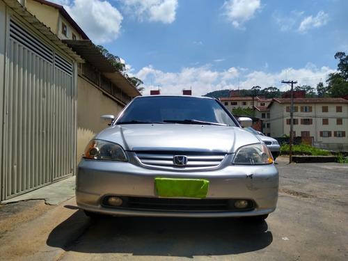 Honda Civic 2002 Muito Conservado, Aceito Ofertas