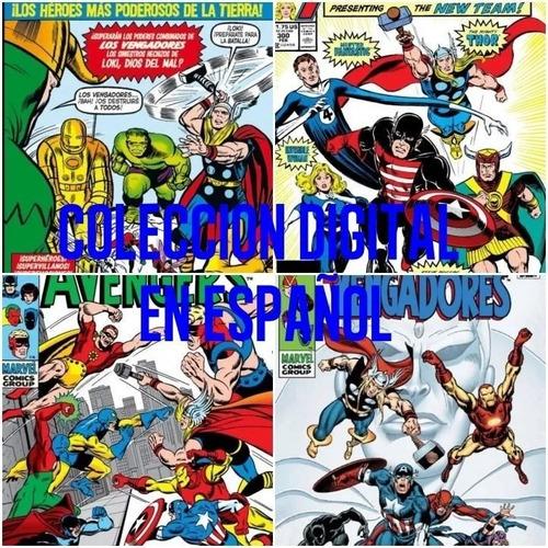 Vengadores Coleccion (1963-2015) Comics Digitales - Español