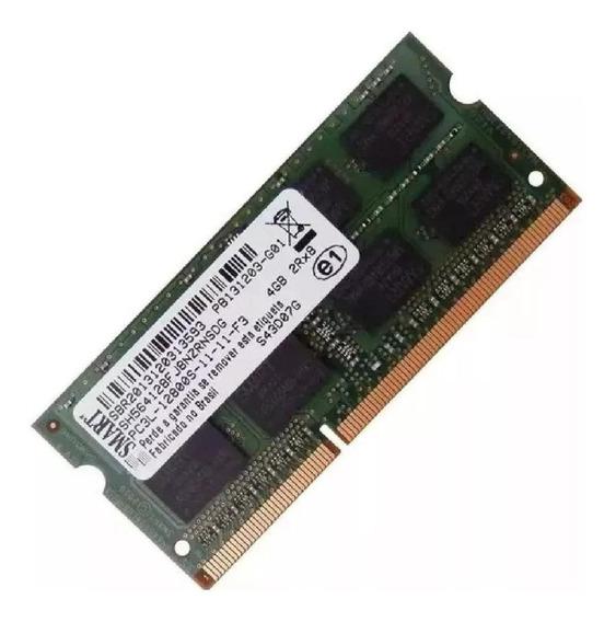 Memória RAM 4GB 1x4GB Smart SH564128FJ8NZRNSDG