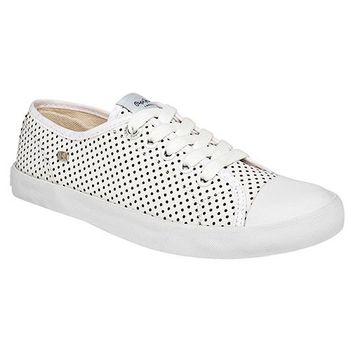 Tenis Pepe Jeans Collie Blanco Tallas Del 23 A 26 Mujer Ppk