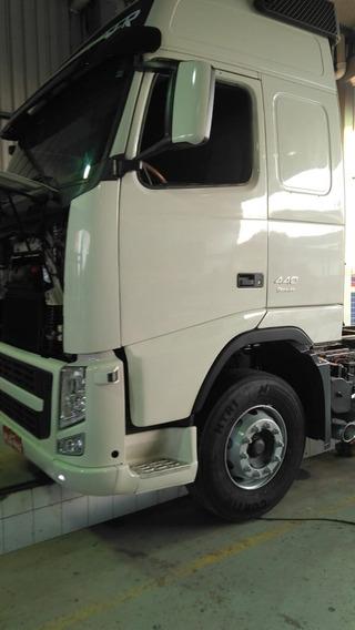 Volvo Fh 440 6x4 Automático, Teto Alto