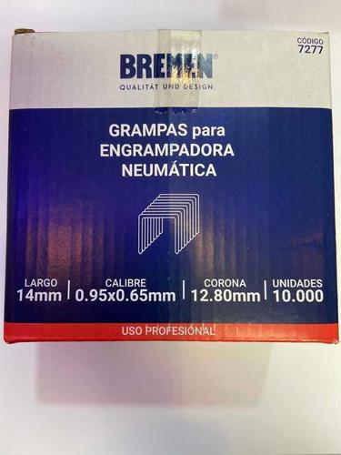 Imagen 1 de 2 de Grampa Engrampadora Neumatica Bremen 7277 12,8x14mm Ionlux