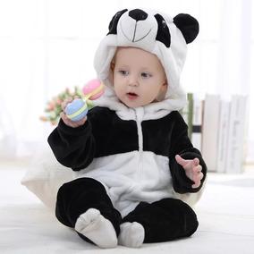Roupinha De Bebê Macacão Pijama Fantasia Panda