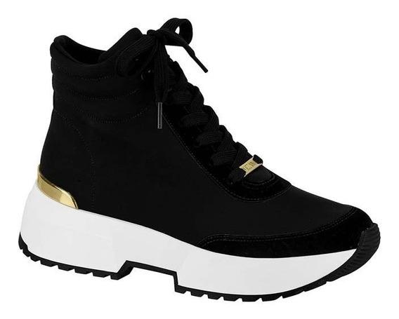 Tênis Bota Feminino Chunky Sneaker Vizzano