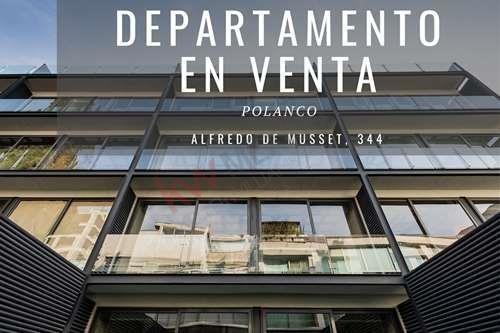 Imagen 1 de 16 de Departamento En Venta De 170m2 Con Balcón En La Colonia Polanco