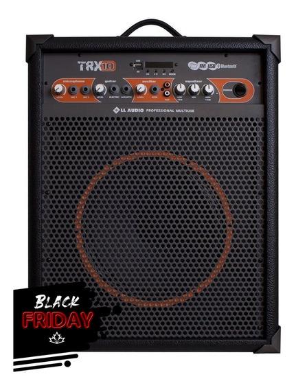 Caixa Ll Audio Amplificada Trx10 40w Bivolt - Oferta