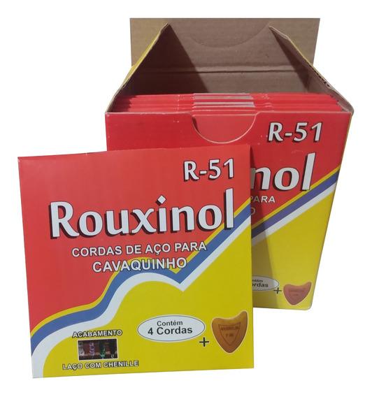 Caixa De Corda Rouxinol Para Cavaquinho - 12 Jogos