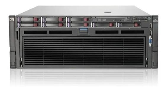 Servidor Hp Dl580 G7 4x Xeon Deca 10c 128gb Ram 4 Hd 1.2tb