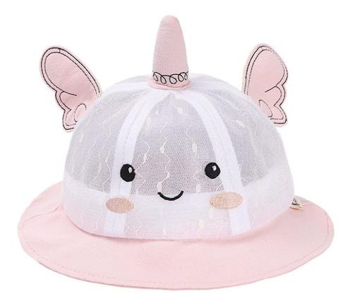 Imagen 1 de 2 de Sombrero De Verano Para Bebé Unicornio
