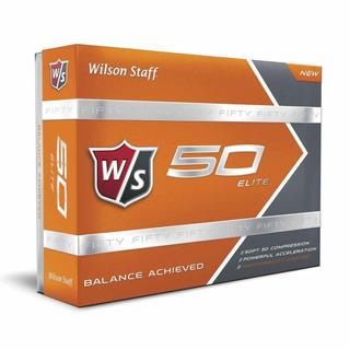 Kaddygolf Pelotas Golf Wilson Fifty Naranjas Caja X 24