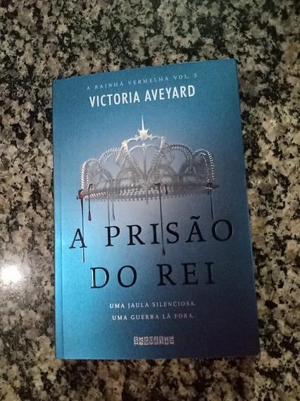 Livro A Prisão Do Rei, Saga A Rainha Vermelha Vol 3