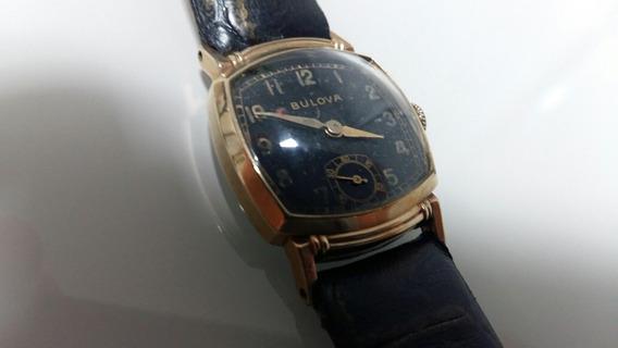Relógio Bulova Antiguidade Corda Man Mostr C Marca Tempo***
