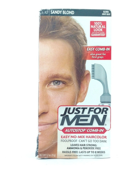 Tinta Para Cabelo Just For Men Cor Sandy Blond A-10
