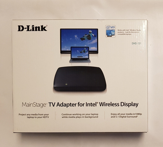 Adaptador Wireless Para Intel Tecnologia Widi D-link Dhd 131