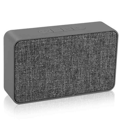 Caixa De Som Xtrax X500 Bluetooth Micro Sd Auxiliar Cinza