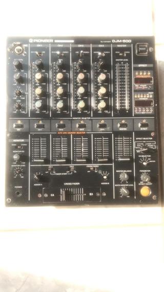 Mixer Pioneer Djm 500 Funciona Mais Precisa De Revisão