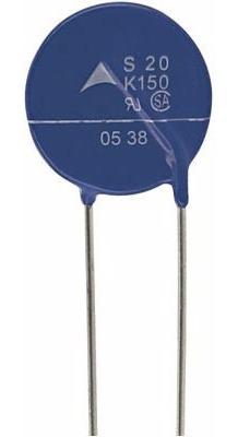 Varistor 20k 150 Vac (s20k150 / Dnr20d241k/s20k241) 3 Peças