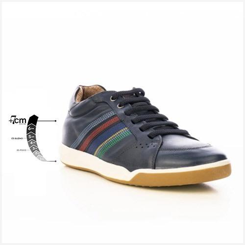 Tenis Urbano Malboro Jeans Max Denegri +7cms De Altura