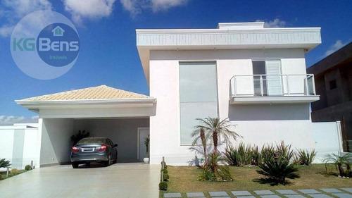 Casa À Venda, 189 M² Por R$ 1.150.000,00 - Condomínio Terras Do Cancioneiro - Paulínia/sp - Ca0228