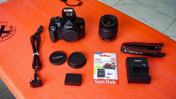 Canon T6 + Lente 18-55mm + Cartão 16gb Frete Grátis