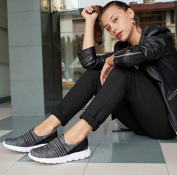 Zapatillas Mujer Elastizadas Súper Cómodas - Sold Fábrica