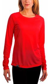 Camisa Feminina Proteção Solar Fps50 Anti Uv Antibactericida