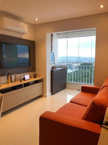 Imagem 1 de 30 de Apto. Com 2 Dorm. 2wcs , Mobiliado E Decorado À Venda, 53 M² Por R$ 620.000 - Casa Verde - São Paulo/sp - Ap4139