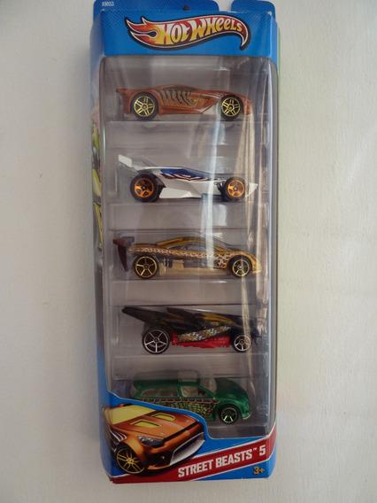 Autos A Escala 1/64 - Hot Wheels - Pack 5
