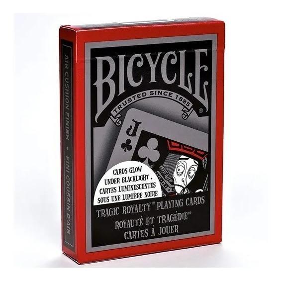 Baralho Bicycle Tragic Royalty Made In Usa Único Original!