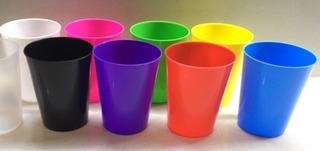 Vasito Plastico Para Souvenirs Eventos Cumpleaños X 155