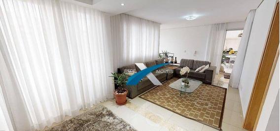 Cobertura À Venda Duplex 3 Quartos Vila Da Serra, Em Nova Lima. - Co0677