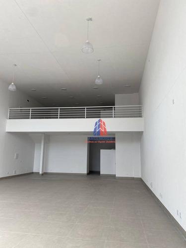 Salão Para Alugar, 270 M² Por R$ 5.500/mês - Jardim São Domingos - Americana/sp - Sl0194
