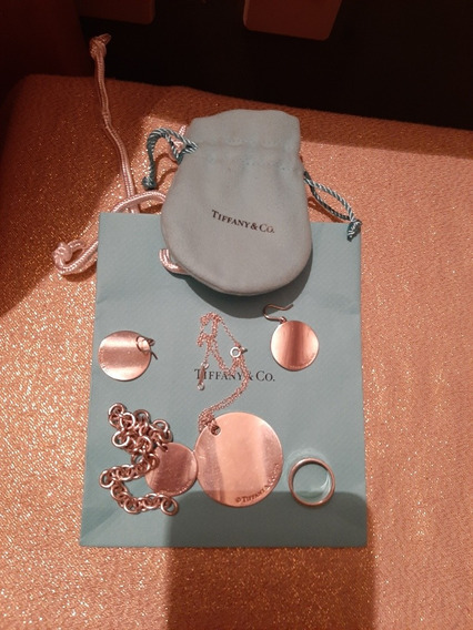 Collar Y Aretes Tiffany Original
