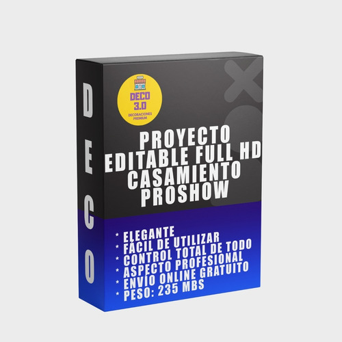Proyecto Casamiento Editable Proshow Producer Full Hd