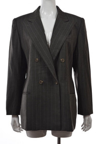Blazer Importado M Ralph Lauren Luxuoso Elegante Lã Verde