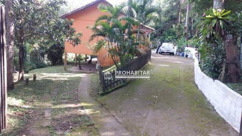 Chácara Com 3 Dormitórios À Venda, 6000 M² Por R$ 290.000,00 - Jardim Das Fontes - São Paulo/sp - Ch0172