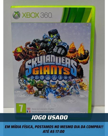 Jogo - Skylanders Giants Xbox 360 Original- Usado
