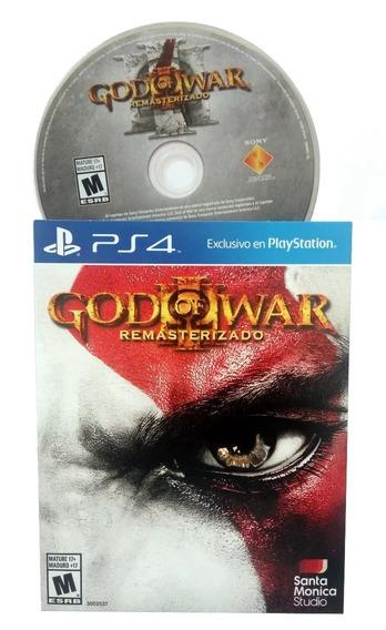 God Of War 3 Remaster Ps4 Portug/ Mídia Física Emb/papelão