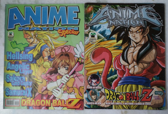 2 Revistas Anime Nation*