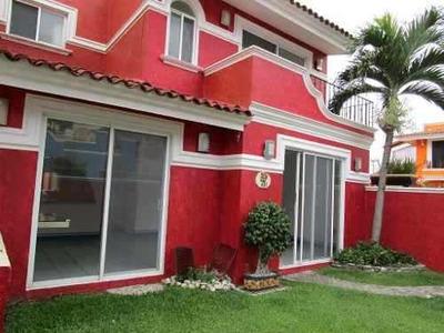 Bonita Casa En Condominio En Burgos Bugambilias, En Temixco.