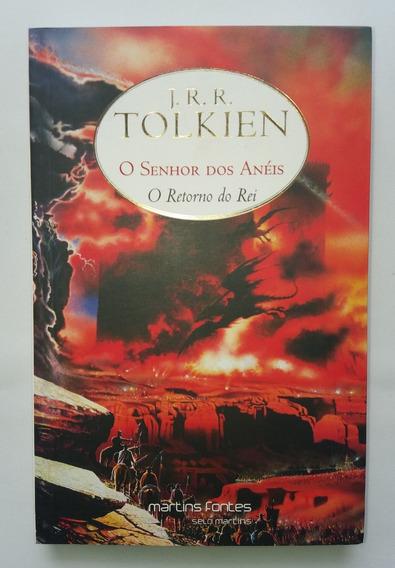 Livro O Senhor Dos Anéis O Retorno Do Rei 3 - Livro Novo