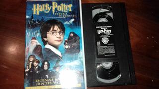 Harry Potter Y La Piedra Filosofal Vhs Original