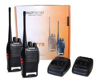 Radio Comunicador Baofeng Walk Talk Bf-777s + Fone Nfe