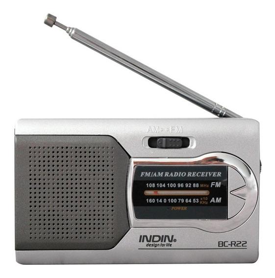 Cy Universal Prata Fino Am / Fm Mini Rádio Estéreo Música Sp