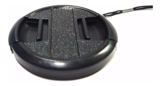 Tapa Lente 58 Mm Generica Fancier Reflex Microcentro Lelab