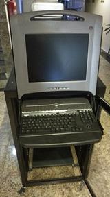 Servidor Dell 1950 Com Rack E Monitor Teclado E Kvm