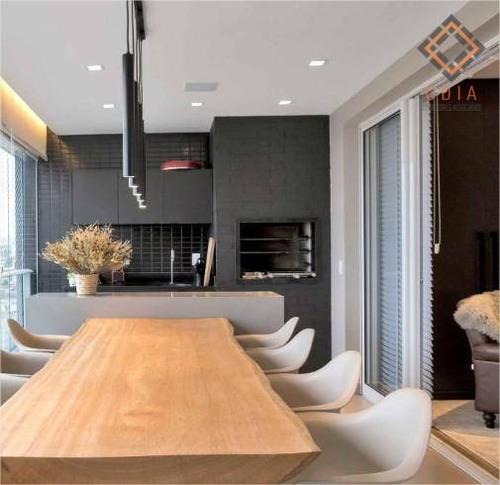 Apartamento Para Compra Com 2 Suítes ,1 Quarto E 2 Vagas Localizado Na Lapa - Ap52391