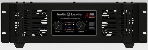 Amplificador De Potência Audio Leader Al10k 10.000 Watts Rms