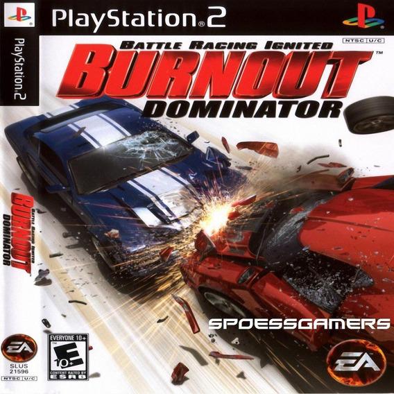 Burnout 5 Dominator Ps2 Carros Corrida Patch .